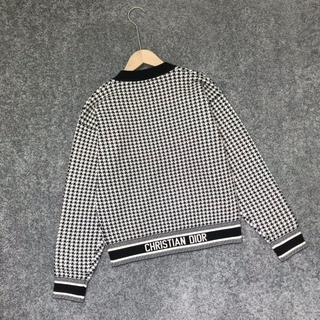 ディオール(Dior)の《DIOR》  セーター ジャカードニット カシミヤ ロゴ(ニット/セーター)