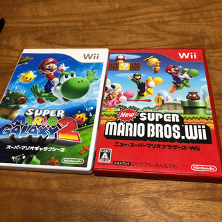 Wii - ニュー・スーパーマリオブラザーズ マリオギャラクシー2 セット wii