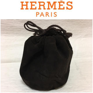 エルメス(Hermes)のHERMES ミニポーチ 巾着型 時計袋(ポーチ)