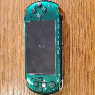 PlayStation Portable - PSP「プレイステーション・ポータブル」 スピリティッド・グリーン
