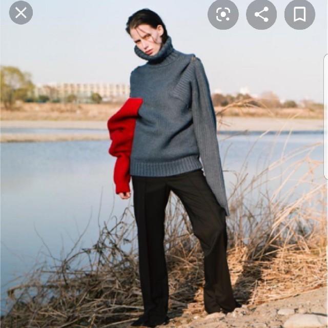 LE CIEL BLEU(ルシェルブルー)のIRENEニット2018AW レディースのトップス(ニット/セーター)の商品写真