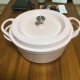 バーミキュラ(Vermicular)のバーミキュラ(Vermicular) オーブンポットラウンド26cmパールピンク(鍋/フライパン)