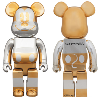 MEDICOM TOY - 送料込み BE@RBRICK FUTURE MICKEY 1000% ミッキー