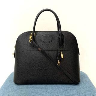 Hermes - 美品 エルメス ボリード35 2wayバッグ 黒