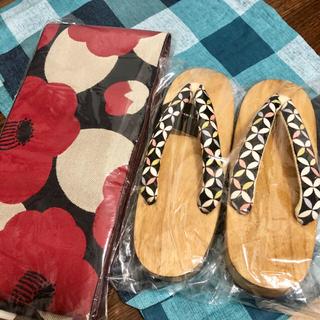 フリフ(ふりふ)のutatane 高級変わり織り浴衣ブロックチェック セット(浴衣)
