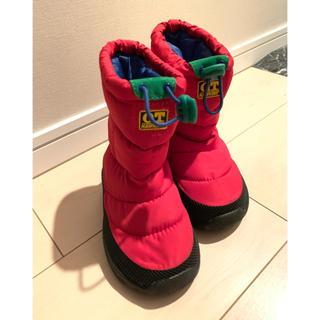 キッズ スノーブーツ  長靴 16cm
