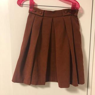 セシルマクビー(CECIL McBEE)のプリーツスカート(ひざ丈スカート)