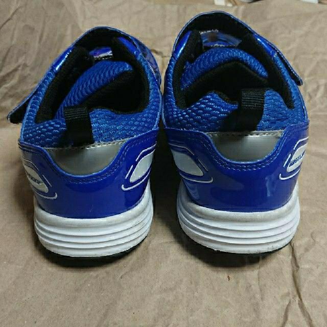Achilles(アキレス)の瞬足 23.5cm EE  防水タイプ キッズ/ベビー/マタニティのキッズ靴/シューズ(15cm~)(スニーカー)の商品写真