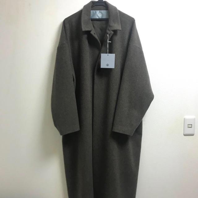 Dulcamara(ドゥルカマラ)の19AW Dulcamara ドゥルカマラ ラムビーバービッグコート メンズのジャケット/アウター(ステンカラーコート)の商品写真
