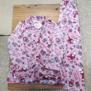 サンリオ - 新品タグ付き ピンク マイメロ ふわもこパジャマ フリーサイズ