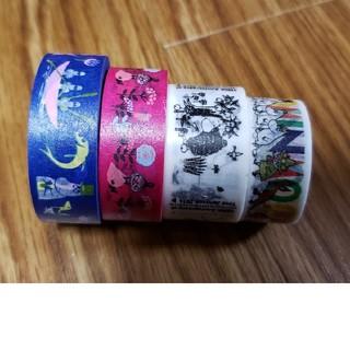 リトルミー(Little Me)のムーミンマスキングテープ&ファンテープ 4巻き(テープ/マスキングテープ)