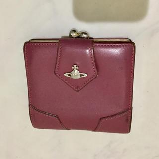 Vivienne Westwood - Vivienne 仕切りの多い財布 二つ折り 革財布 ピンク