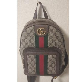 Gucci - GUCCI オフディアGG スモールバックパック