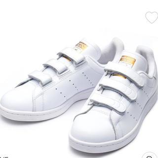 adidas - Stan Smith ベルクロ ゴールド