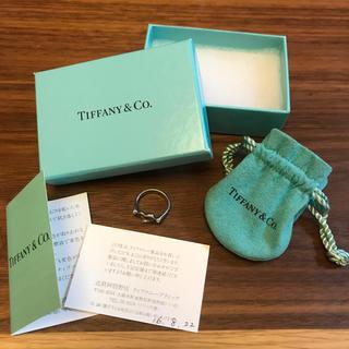 ティファニー(Tiffany & Co.)のティファニー/Tiffany&coオープンハート リングシルバー Ag925(リング(指輪))