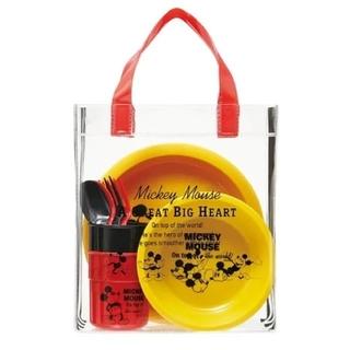 ミッキーマウス(ミッキーマウス)の新品 未使用 スケーター 行楽ランチセット ミッキーマウス(弁当用品)