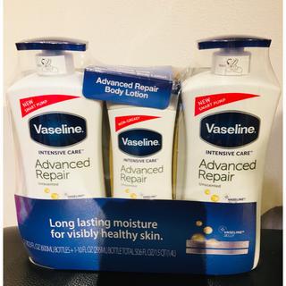 Vaseline - 新品未開封 ヴァセリン アドバンスドリペア ローション 3本セット コストコ
