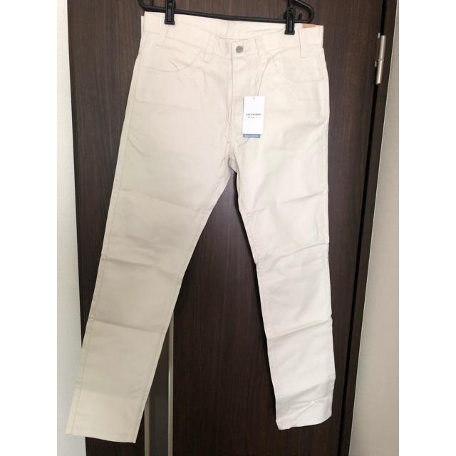 JOURNAL STANDARD(ジャーナルスタンダード)の【新品未使用】JOURNAL STANDARD 白パンツ(長ズボン)タグ付き メンズのパンツ(チノパン)の商品写真