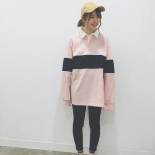 GU - ラガーシャツ
