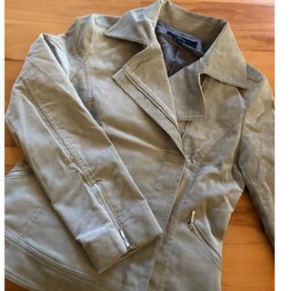 オゾック(OZOC)のOZOC コーデュロイ  ライダースジャケット 未使用 値下げ(ライダースジャケット)