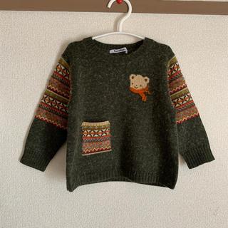 familiar - ファミリア ニット セーター