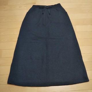 グローブ(grove)のgrove☆裏起毛ロングスカート(ロングスカート)