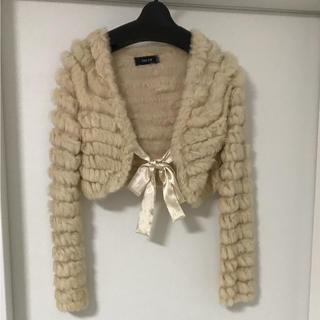 チュー(CHU XXX)の12月いっぱいの価格 新品ラビット   ¥15000-の品毛皮    (毛皮/ファーコート)