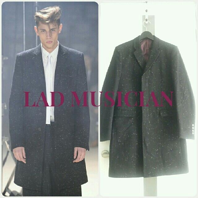 LAD MUSICIAN(ラッドミュージシャン)のLAD MUSICIAN ネップチェスターコート 50s ロカビリー エルビス メンズのジャケット/アウター(チェスターコート)の商品写真