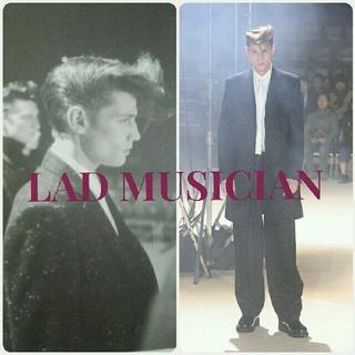 ラッドミュージシャン(LAD MUSICIAN)のLAD MUSICIAN ネップチェスターコート 50s ロカビリー エルビス(チェスターコート)