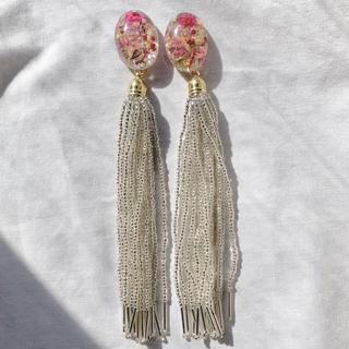 beads tassel(ピアス)