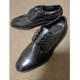 ザラ(ZARA)の【美品】ZARA 革靴 ローファー 26センチ(40)黒(ローファー/革靴)