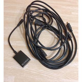 ほぼ未使用 セミナー 講師 イベント接続アダプター 電子ケーブル pc周辺機器(デスクトップ型PC)