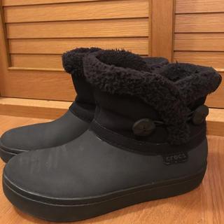クロックス(crocs)のクロックス ショートブーツ(レインブーツ/長靴)