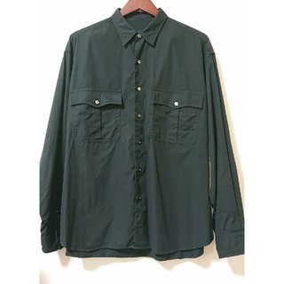 ポーター(PORTER)のporter classic ROLL UP SHIRT BLACK(シャツ)