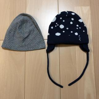 エイチアンドエム(H&M)のH&M ニット帽 2つセット(帽子)