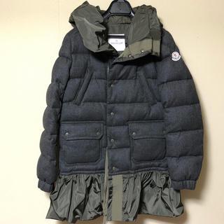 sacai - サカイ sacai モンクレール コラボ ダウン ジャケット コート 美品
