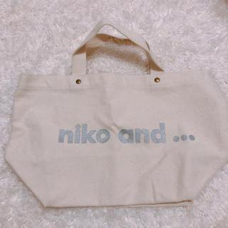 ニコアンド(niko and...)のnico and トートバッグ(トートバッグ)
