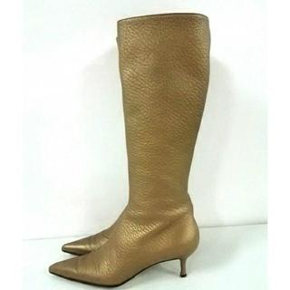 ドルチェアンドガッバーナ(DOLCE&GABBANA)のDOLCE&GABBANA ロング ブーツ  (ブーツ)