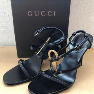 Gucci - グッチ GUCCI レザー サンダル