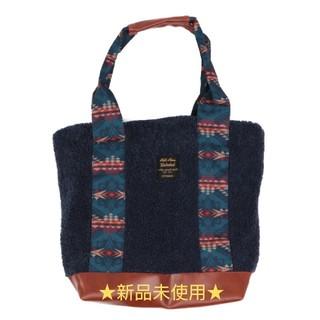 チチカカ(titicaca)のボアトートバッグ(値下げ)(トートバッグ)