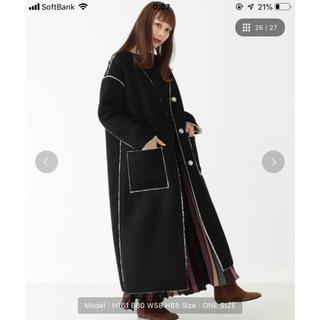CAROLINA GLASER - 新品タグ付き☆CAROLINA GLASER フェイクムートンコート