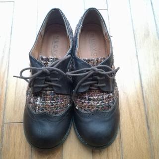 ヌォーボ(Nuovo)のNUOVO ツイード シューズ XL(ローファー/革靴)
