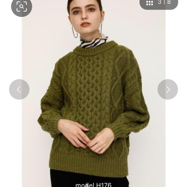 SLY(スライ)のSLY ニット レディースのトップス(ニット/セーター)の商品写真