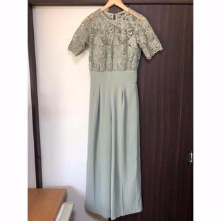 LagunaMoon - LADYオーバーレースワイドパンツドレス 19SS 新品未使用 ミント M