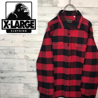エクストララージ(XLARGE)の【厚手】エクストララージX-LARGE☆ビッグチェックシャツM0889(シャツ)