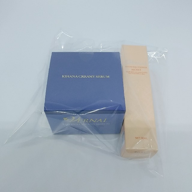 VERNAL(ヴァーナル)のキハナクリーミーセラム 30g 化粧水30ml付き コスメ/美容のスキンケア/基礎化粧品(美容液)の商品写真