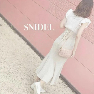snidel - スナイデル❤︎ コットンリネンマーメイドスカート