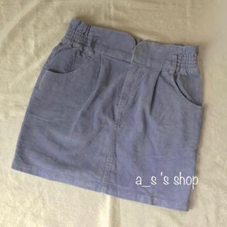 ページボーイ(PAGEBOY)のコーデュロイスカート(ミニスカート)