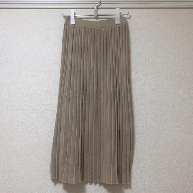 LOWRYS FARM(ローリーズファーム)のローリーズファーム  ニットプリーツスカート レディースのスカート(ロングスカート)の商品写真