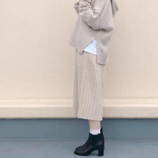 LOWRYS FARM - ローリーズファーム  ニットプリーツスカート